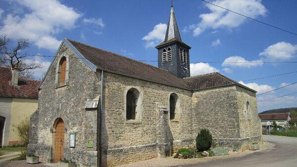 Le tableau de Jean Tassel de l'église de Courcelles va être restauré