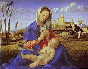 Giovanni Bellini - The Madonna of the Meadow