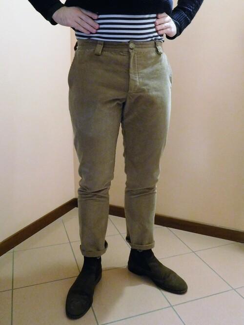 Pantalon Velours Raffaele