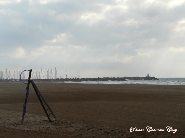 Narbonne Plage (11) : Le matin