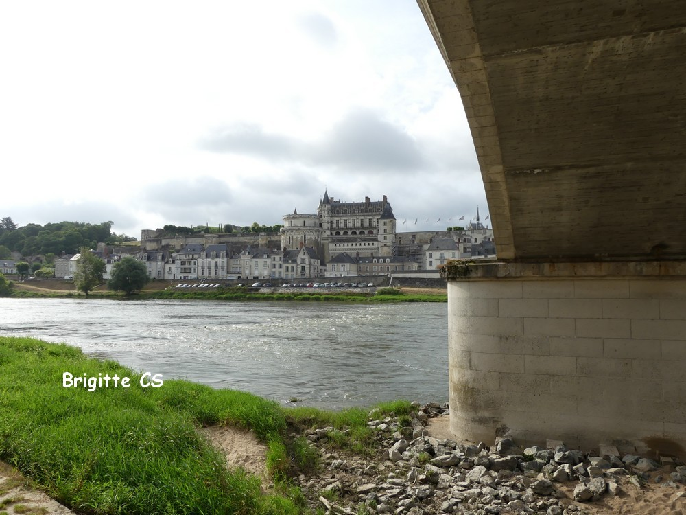 Le château Royal d'Amboise...