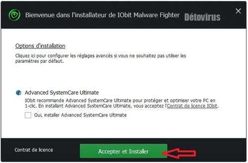 Iobit Malware Fighter 3.4 Pro - Licence 6 mois gratuits