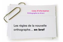 Orthographe rénovée
