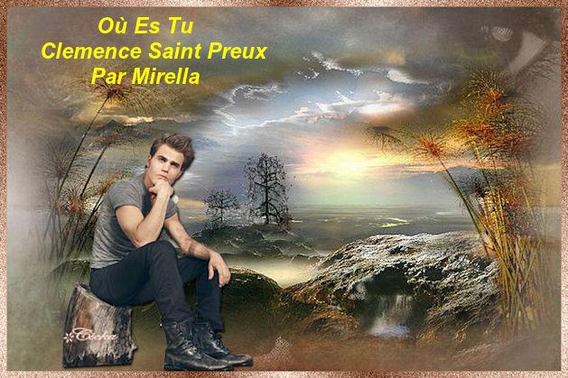 Où Es Tu   Clemence Saint Preux       Par Mirella