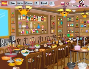 Dining hall - Hidden objects