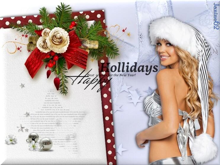 ♥ Joyeux Noël à tous Athos & Cheyenne ♥