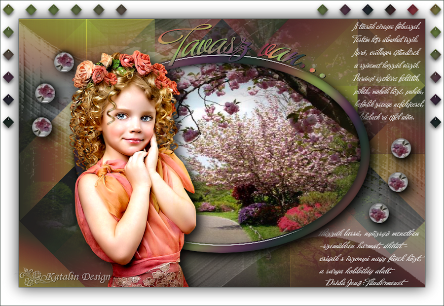 Katalin Design ~ It's Spring