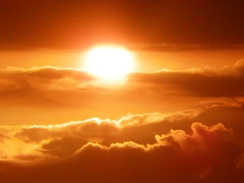 Des couchers de soleil toujours aussi splenides