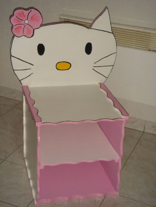 TABLE DE NUIT HELLO KITTY