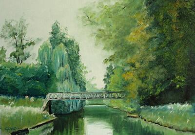 h ♦ Le canal à Montretout
