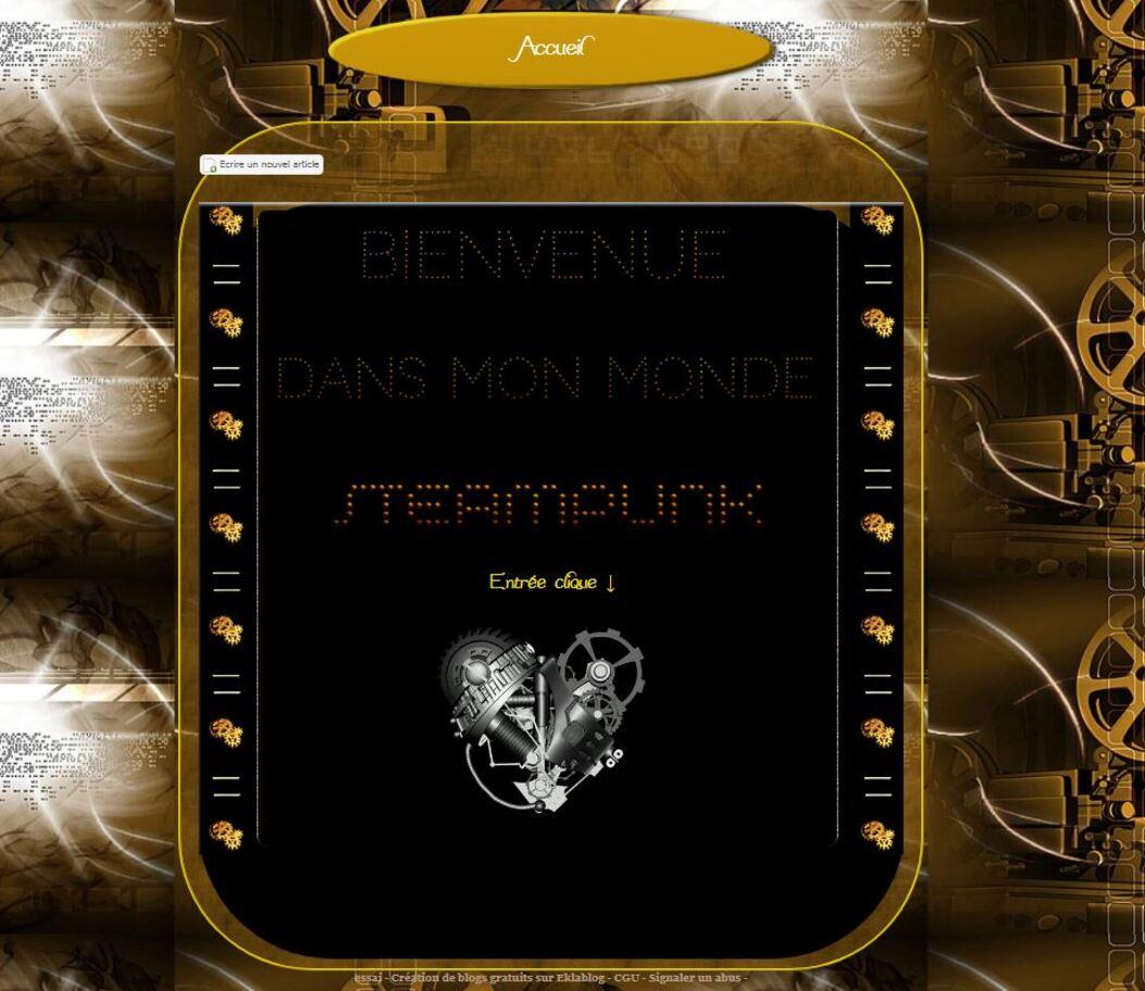 Monde Steampunk