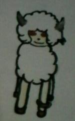 [Mascotte] Frän, le mouton/berger diabolique (faux)