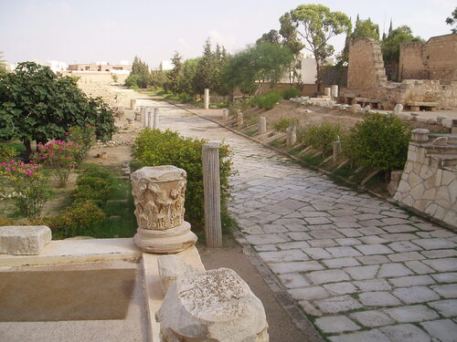 Le site d'El Zem en Turquie