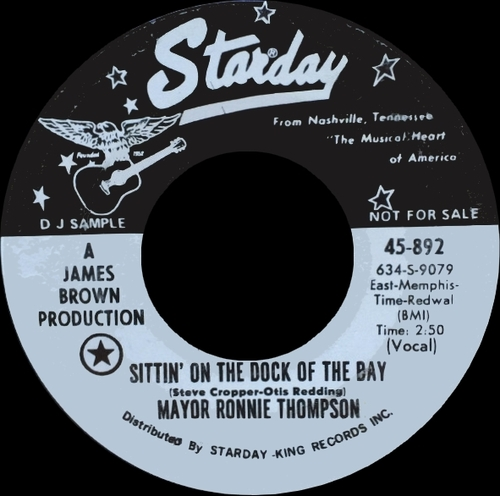 Mayor Ronnie Thompson : Single SP Starday Records 45-852 [ US ]