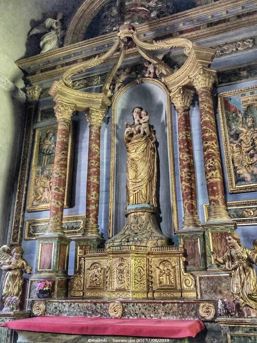 Église Saint-Ébons de Sarrancolin (65)