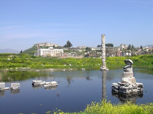 Ruines actuelles du Temple - Source : epigrammeoeil.blogspot.fr