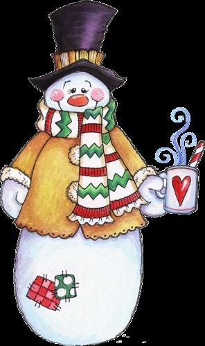 Bonhommes de Neige Série 12