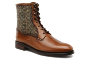 george's tweed bottines