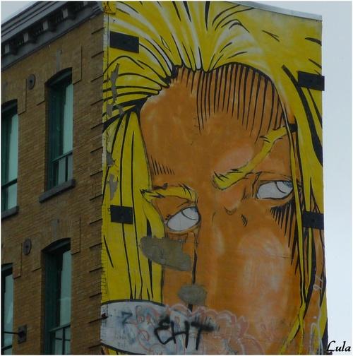 Peintures sur mur, Montréal
