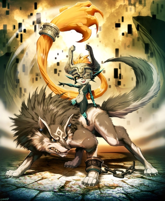 zelda___midna_and_wolf_link_by_genzoman-d30niyq