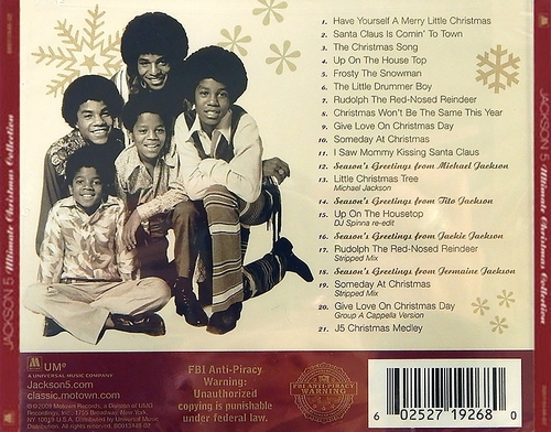 "The Jackson 5 : Album "" Jackson 5 Christmas Album "" Motown Records MS 713 [ US ]"