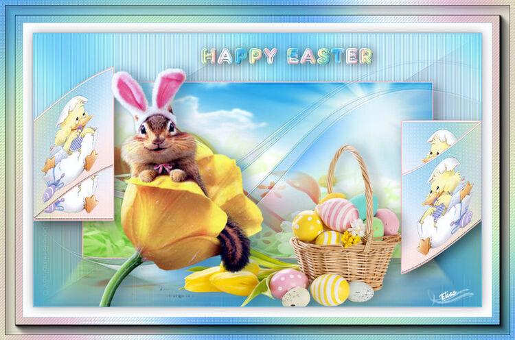 Happy Easter    de Saturnella