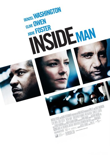 INSIDE MAN : L'HOMME DE L'INTERIEUR