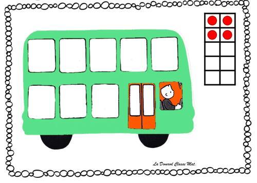Jeu du bus : quelques ateliers de numération