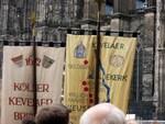 Pilgerfahnen an Fronleichnam