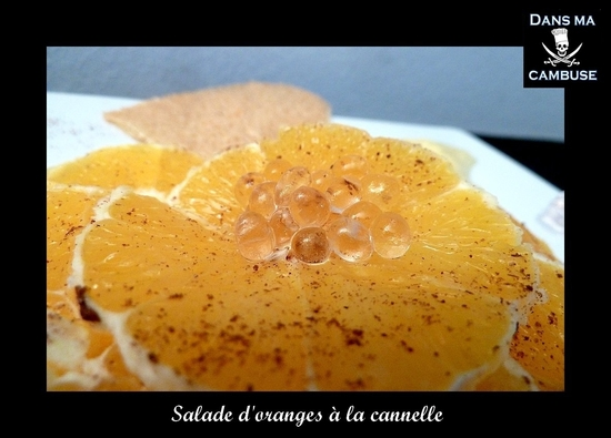 salade orange cannelle