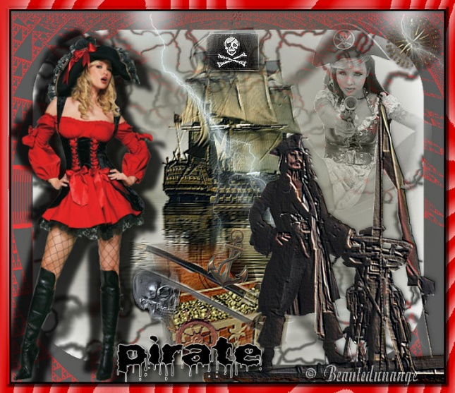 Créas pirates/marin