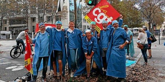 Plusieurs Cornouaillais se sont rassemblés à Paris, jeudi.