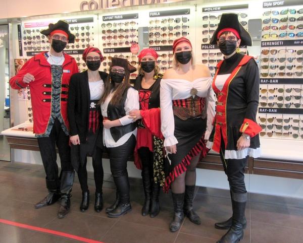 Les commerçants des Vitrines Châtillonnaises ont célébré le Tape-Chaudrons...à leur manière !
