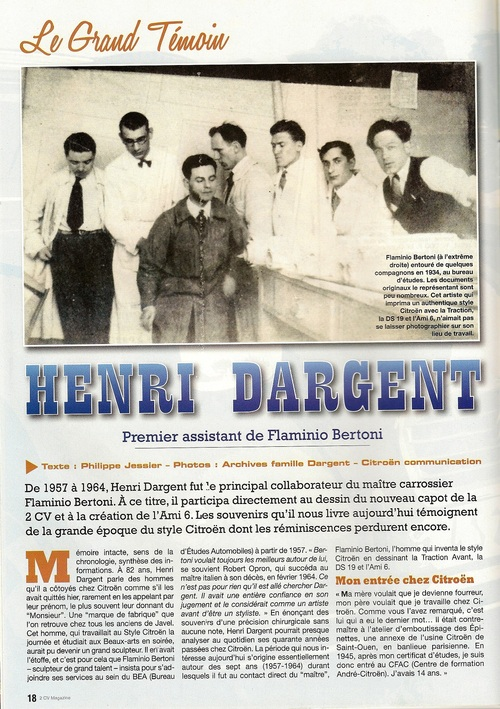 Henry DARGENT
