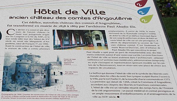 Angoulême hôtel de ville