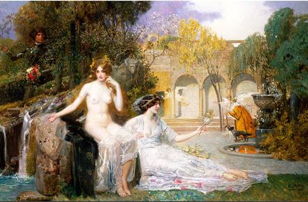 Fontaine de jouvence, Eduard Veith