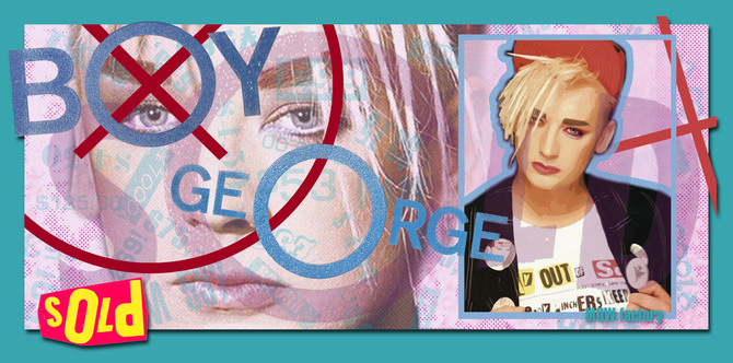 BOY GEORGE - 1987 - SOLD by T@d