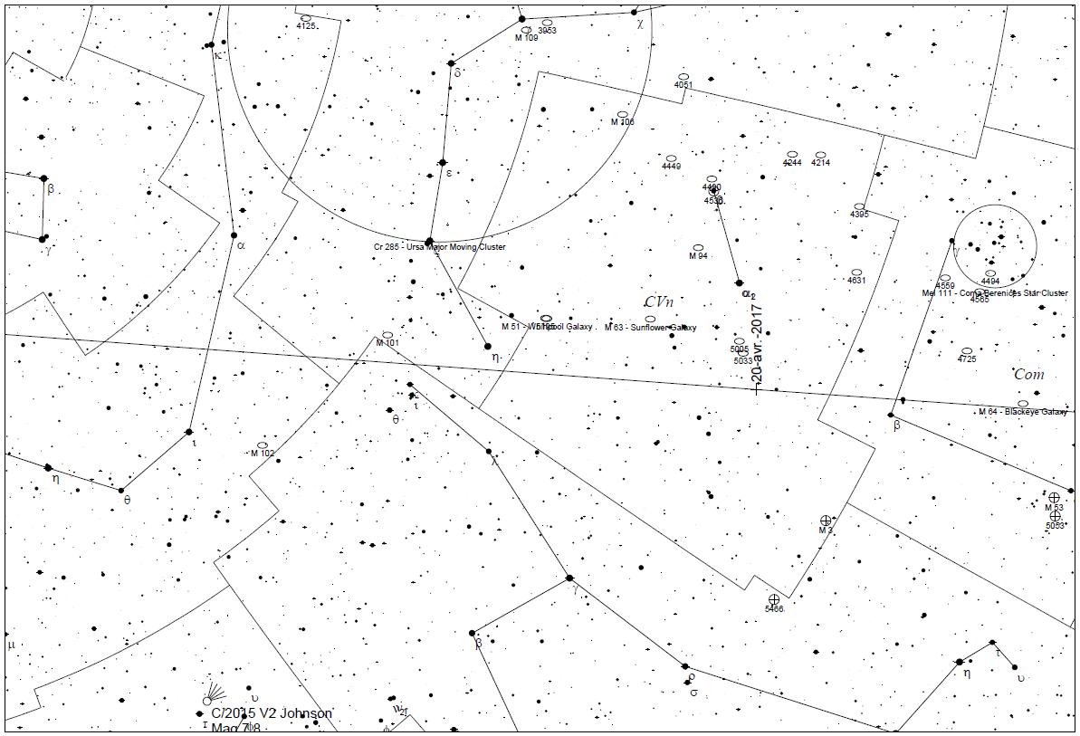 2014JO24 asteroid map