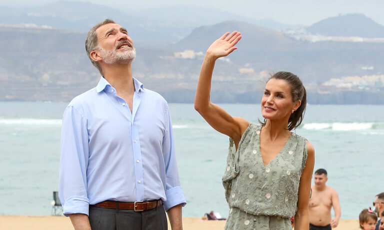 Felipe et Letizia aux Canaries