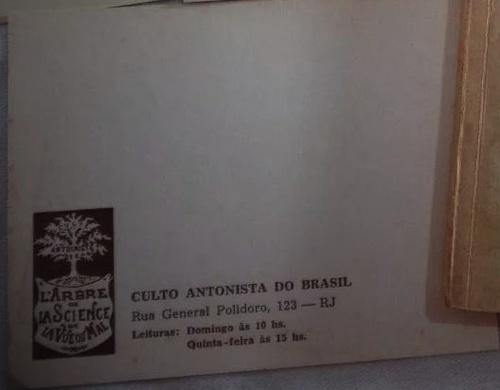 Carte Culto Antonista-recto