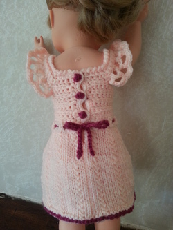 Une robe  rose pour Rose