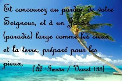 La croyance au Paradis -