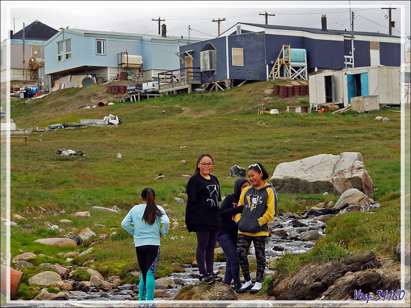 Portraits - Pond Inlet - Baffin Island - Nunavut - Canada