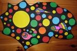Ensemble multicolore