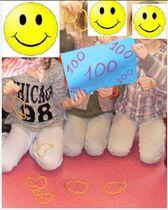 la fête des 100 premiers jours d'école