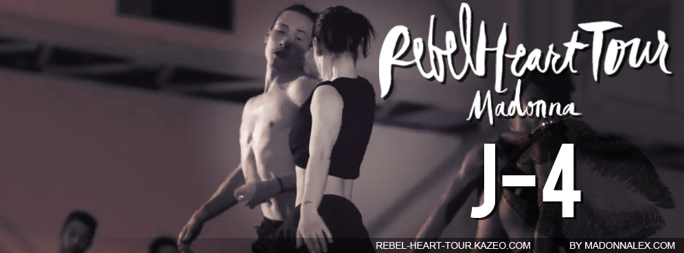 Madonna Rebel Heart Tour J-4