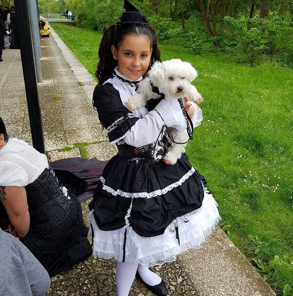Tosca, la mascotte des gothiques