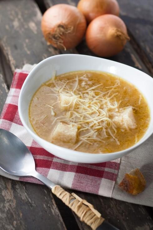 IMAGE : Soupe à l'oignon