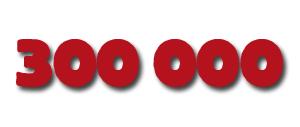 300 000 visiteurs : Merci à vous