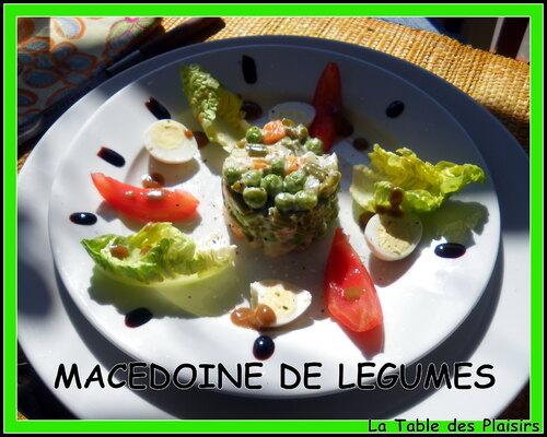 MACÉDOINE DE LEGUMES